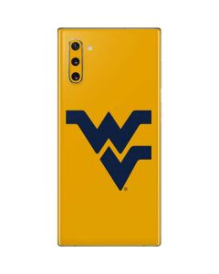 West Virginia Yellow Background Galaxy Note 10 Skin