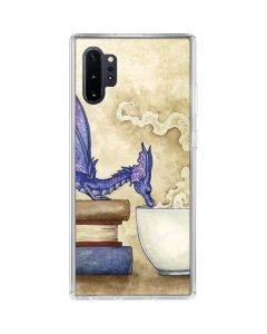 Whats in Here Coffee Dragon Galaxy Note 10 Plus Clear Case