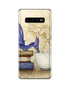 Whats in Here Coffee Dragon Galaxy S10 Plus Skin