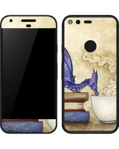 Whats in Here Coffee Dragon Google Pixel Skin