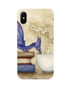 Whats in Here Coffee Dragon iPhone XS Max Lite Case