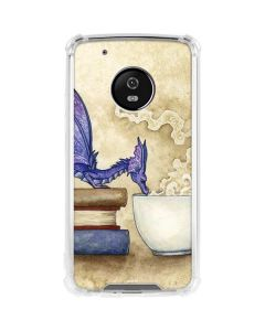 Whats in Here Coffee Dragon Moto G5 Plus Clear Case