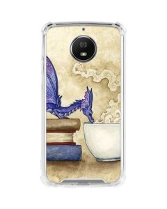 Whats in Here Coffee Dragon Moto G5S Plus Clear Case
