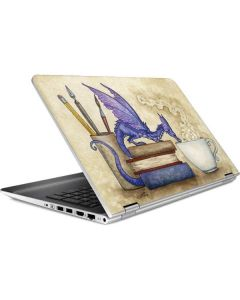 Whats in Here Coffee Dragon HP Pavilion Skin