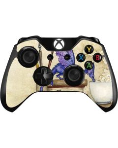 Whats in Here Coffee Dragon Xbox One Controller Skin