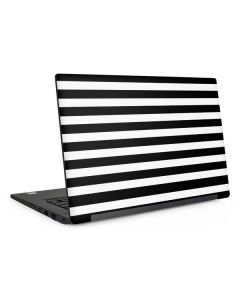 White and Black Stripes Dell Latitude Skin