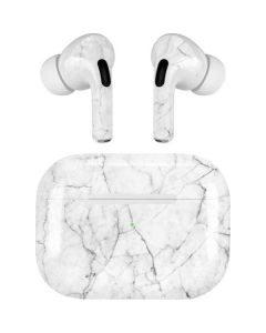 White Marble Apple AirPods Pro Skin