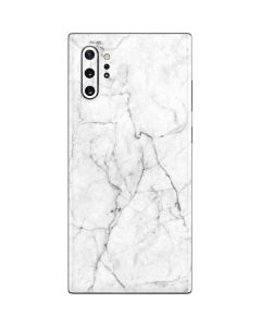 White Marble Galaxy Note 10 Plus Skin