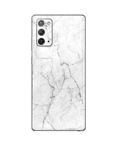 White Marble Galaxy Note20 5G Skin
