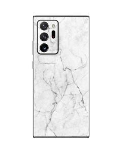 White Marble Galaxy Note20 Ultra 5G Skin