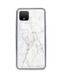 White Marble Google Pixel 4 XL Clear Case