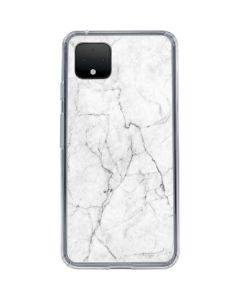 White Marble Google Pixel 4 XL Clear Case