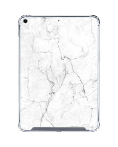 White Marble iPad 10.2in (2019-20) Clear Case