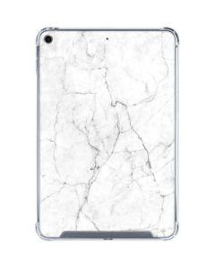 White Marble iPad Mini 5 (2019) Clear Case