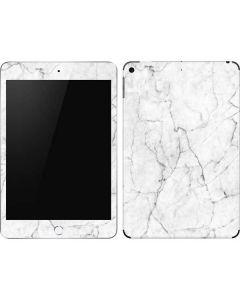 White Marble Apple iPad Mini Skin