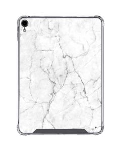 White Marble iPad Pro 11in (2018-19) Clear Case