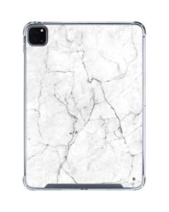 White Marble iPad Pro 11in (2020) Clear Case