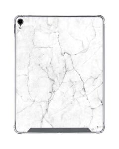 White Marble iPad Pro 12.9in (2018-19) Clear Case