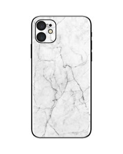 White Marble iPhone 11 Skin