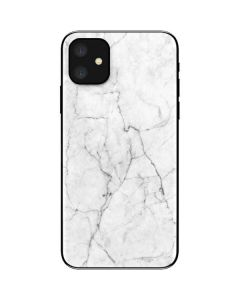 White Marble iPhone 11 Skin