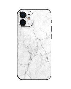 White Marble iPhone 12 Mini Skin