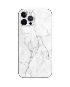 White Marble iPhone 12 Pro Max Skin