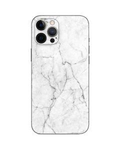 White Marble iPhone 12 Pro Skin