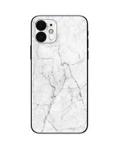 White Marble iPhone 12 Skin