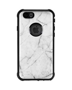 White Marble iPhone 6/6s Waterproof Case
