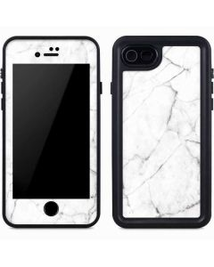 White Marble iPhone 8 Waterproof Case