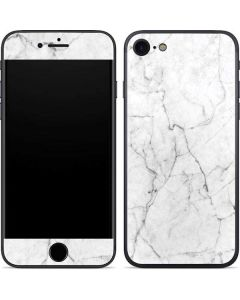 White Marble iPhone SE Skin