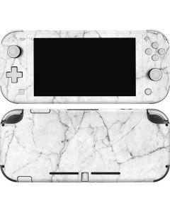 White Marble Nintendo Switch Lite Skin