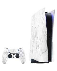 White Marble PS5 Bundle Skin