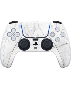 White Marble PS5 Controller Skin