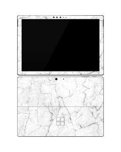 White Marble Surface Pro 7 Skin