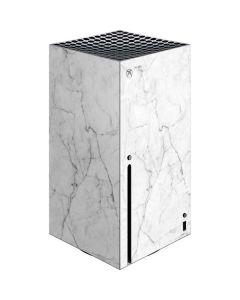 White Marble Xbox Series X Console Skin