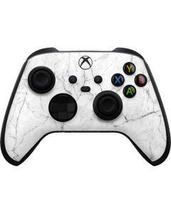 White Marble Xbox Series X Controller Skin