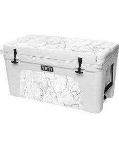 White Marble YETI Tundra 75 Hard Cooler Skin