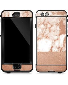 White Rose Gold Marble LifeProof Nuud iPhone Skin