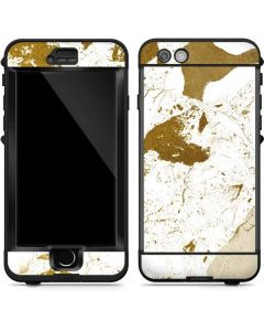 White Scattered Marble LifeProof Nuud iPhone Skin