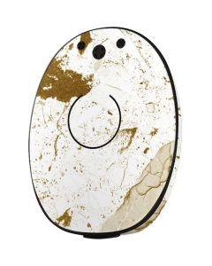 White Scattered Marble MED-EL Rondo 2 Skin