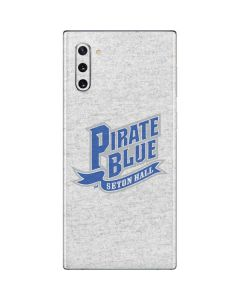 White Seton Hall Pirate Blue Galaxy Note 10 Skin
