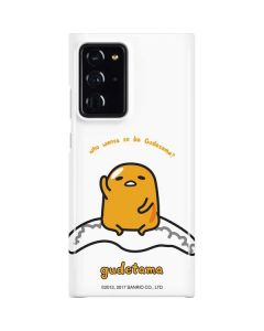 Who Wants To Be Gudetama Galaxy Note20 Ultra 5G Lite Case