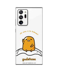 Who Wants To Be Gudetama Galaxy Note20 Ultra 5G Skin