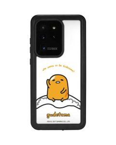Who Wants To Be Gudetama Galaxy S20 Ultra 5G Waterproof Case