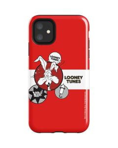 Wile E Coyote Red Stripes iPhone 11 Impact Case