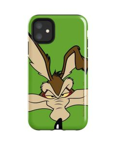 Wile E Coyote Zoomed In iPhone 11 Impact Case