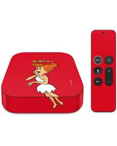 Wilma Flintstone Apple TV Skin