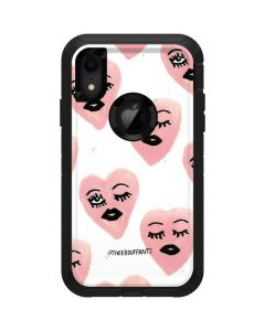Winking Hearts Otterbox Defender iPhone Skin