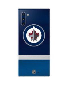 Winnipeg Jets Alternate Jersey Galaxy Note 10 Skin